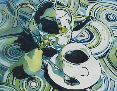 Painting - Tea Time by Daydre Hamilton