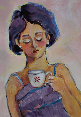Painting - Tea Time  by Diane Ursin