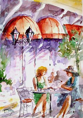 Tea Time...  Art Print by Faruk Koksal