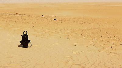 Sahara Mixed Media - Tea Time In The Desert by Anthony Dalton