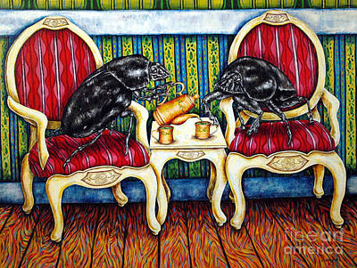 Painting - Tea Time by Jay  Schmetz