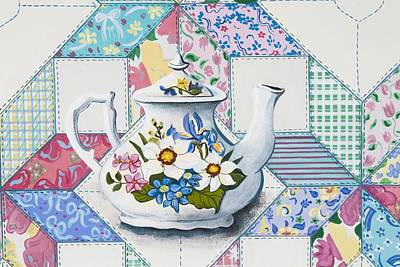 Painting - Tea Time by Jennifer Lake