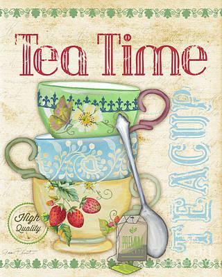 Tea Time-jp2570 Original by Jean Plout