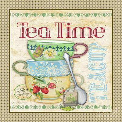 Tea Time-jp2572 Original by Jean Plout