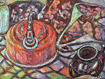 Tea Time Art Print by Kendall Kessler