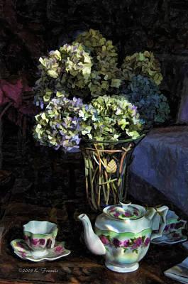 Tea Time Art Print by Kenny Francis