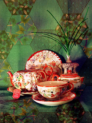 Photograph - Tea Time by Shawna Rowe
