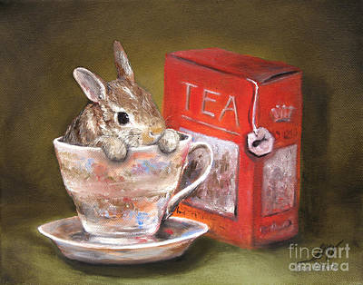 Painting - Tea Time by Stella Violano