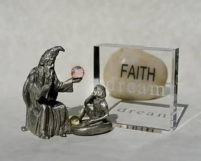 Photograph - Teacher. Student. Faith. Dream. by Rhonda McDougall