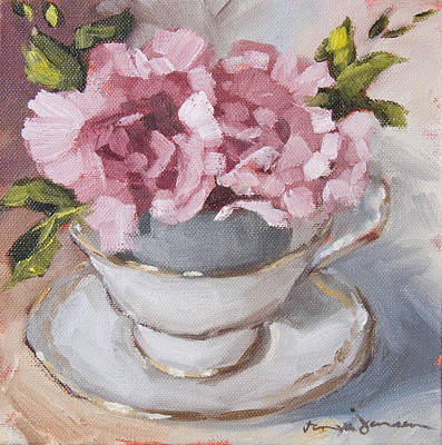Painting - Teacup 2 by Tanya Jansen