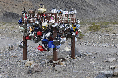 Teakettles Photograph - Teakettle Junction, California by John Shaw