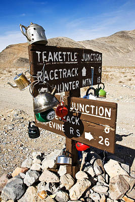 Teakettles Photograph - Teakettle Junction by James Marvin Phelps