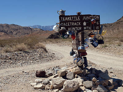 Teakettles Photograph - Teakettle Junction by Joe Schofield