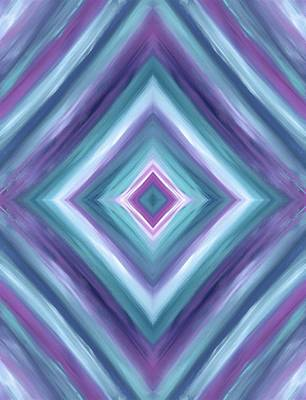 Painting - Teal One Diamond Dreams by Barbara St Jean