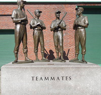 Photograph - Teammates by Caroline Stella