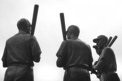 Boston Red Sox Photograph - Teammates by Joann Vitali