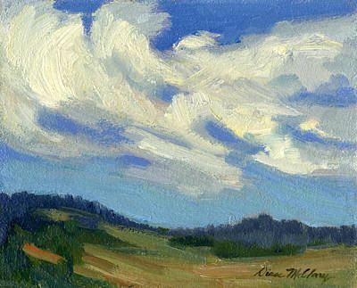 Painting - Teanaway Passing Clouds by Diane McClary