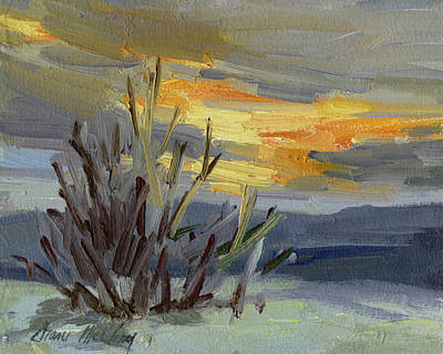 Painting - Teanaway Valley Winter by Diane McClary