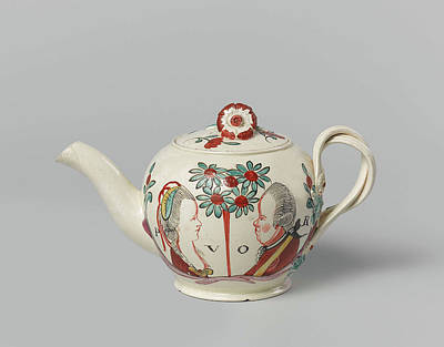 Teapot Drawing - Teapot, Anonymous by Quint Lox