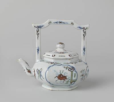 Teapot Drawing - Teapot, Het Moriaanshooft by Quint Lox