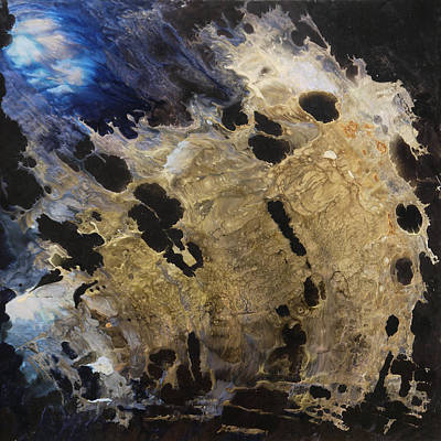 Painting - Tearing Up The Pieces by Lia Melia