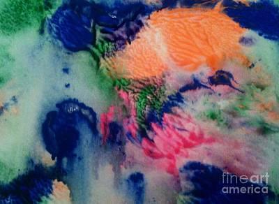 Painting - Tears Of Blue by Maya Telford