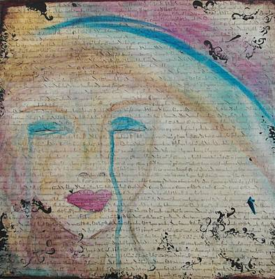 Etc Mixed Media - Tears Of Hope by Debbie Hornsby