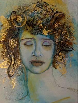Tears Of Medusa Art Print by Maureen Girard