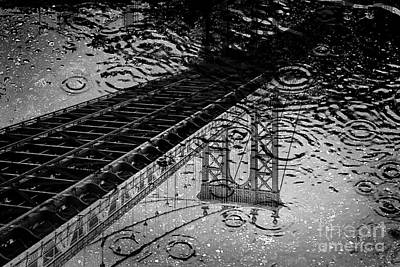 Puddle Photograph - Tears Of New York by Az Jackson
