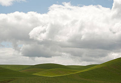 Grey Clouds Photograph - Teasing Clouds by Latah Trail Foundation
