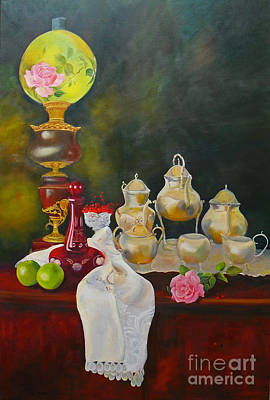 Painting - Teatime by Beatrice Cloake