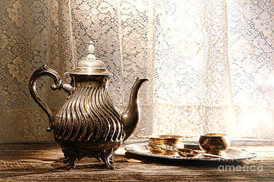Photograph - Teatime by Olivier Le Queinec