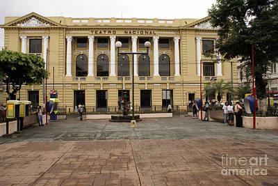 Photograph - Teatro Nacional San Salvador by John  Mitchell
