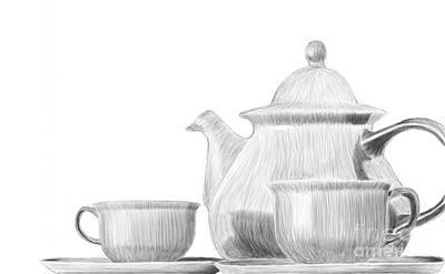 Teaware Art Print