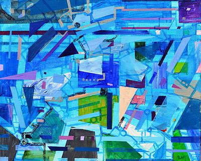 Painting - Techno Cool by Regina Valluzzi