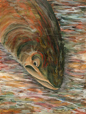 Painting - Techno Trout by Darice Machel McGuire