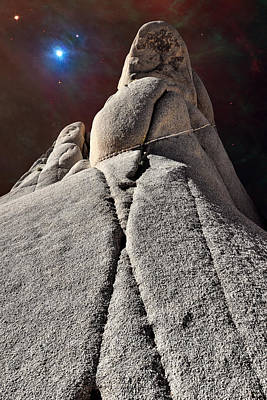 Photograph - Tectonic Cosmos - Joshua Tree National Park by Vlad Bubnov