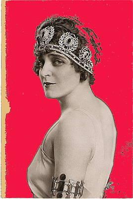 Ted Degrazia's Friend Marguerite Namara In  Chicago Opera's Thais 1919-2013 Print by David Lee Guss