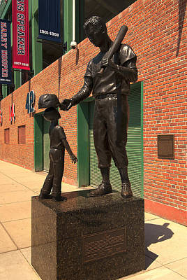 Ted Williams Art Print by Paul Mangold