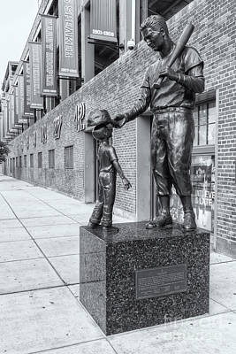 Boston Photograph - Teddy Ballgame II by Clarence Holmes