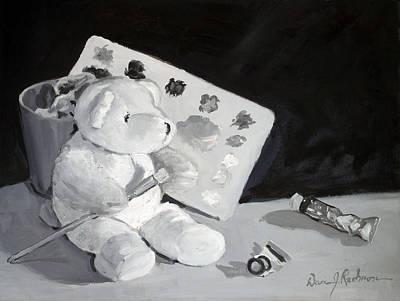 Teddy Behr The Painter #2 Art Print by Dan Redmon
