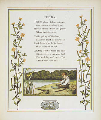 Fish Bowl Photograph - Teddy by British Library