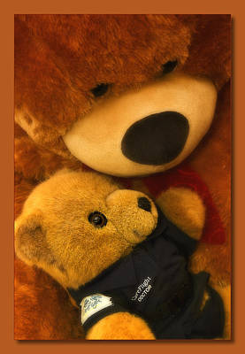 Photograph - Teddy Care 01 by Kevin Chippindall