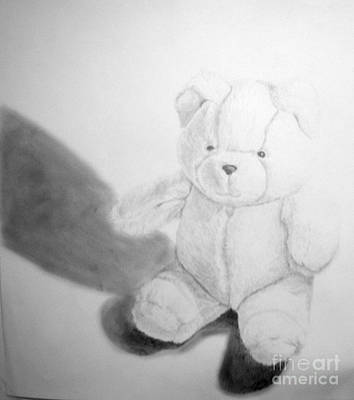 Drawing - Teddy by Tamir Barkan