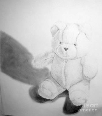 Teddy Art Print by Tamir Barkan