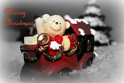 Photograph - Teddys Christmas  by Debra Forand