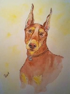 Painting - Teegan by Stephanie Reid