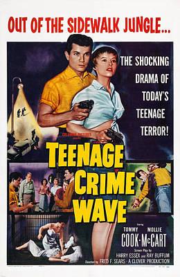 Teen-age Crime Wave, Aka Teenage Crime Art Print