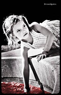 Photograph - Teenage Pursuit by Stwayne Keubrick
