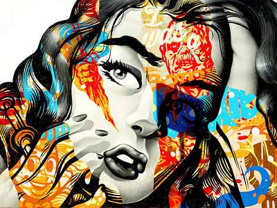 Teenage Starlet Art Print by Lorenzo Williams